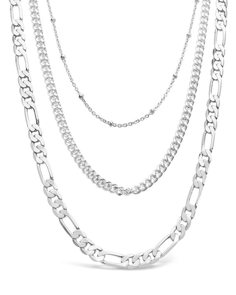 Simple Layered Chains - Sterling Forever