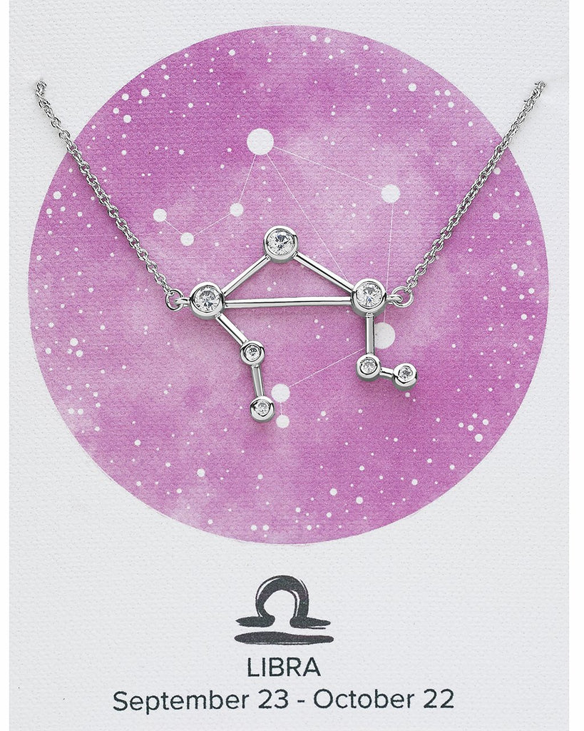 'When Stars Align' Constellation Necklace - Sterling Forever
