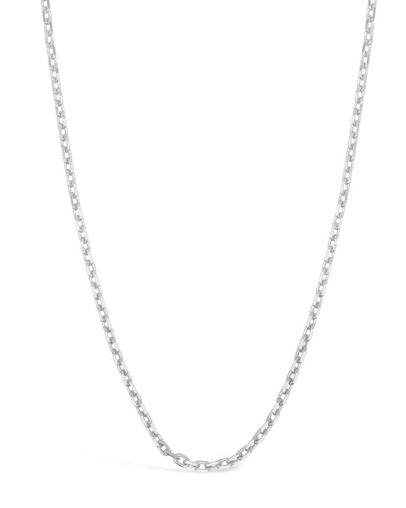 Dainty Link Face Mask Chain Face Mask Chain Sterling Forever Silver