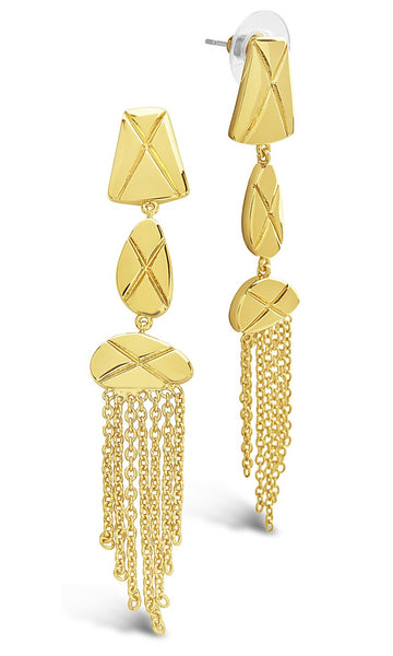 The Mirage Fringe Drop Earring