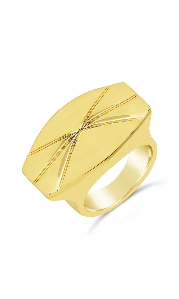 The Mirage Statement Ring - Sterling Forever
