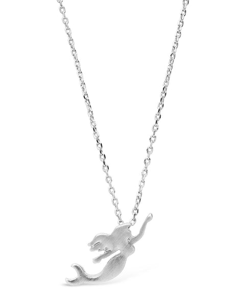 Sterling Silver Mermaid Necklace Necklace Sterling Forever Silver
