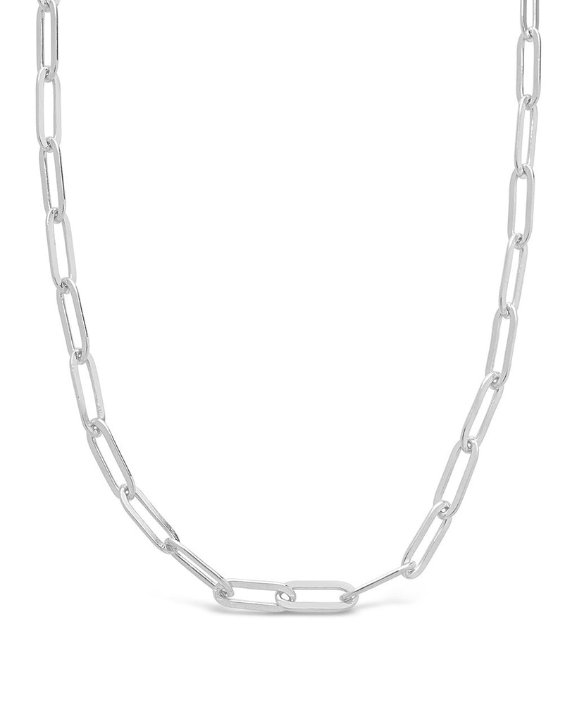 Polished Small Link Chain Necklace