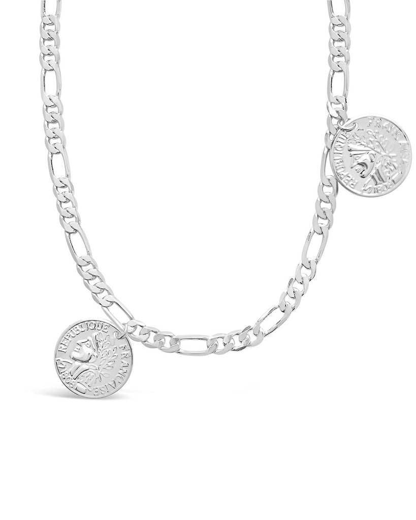 Figaro Charm Necklace - Sterling Forever