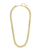 Chunky Mesh Braided Chain Necklace Sterling Forever