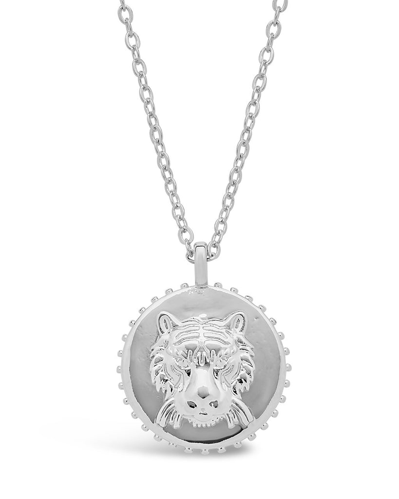 Untamed Medallion Pendant - Sterling Forever