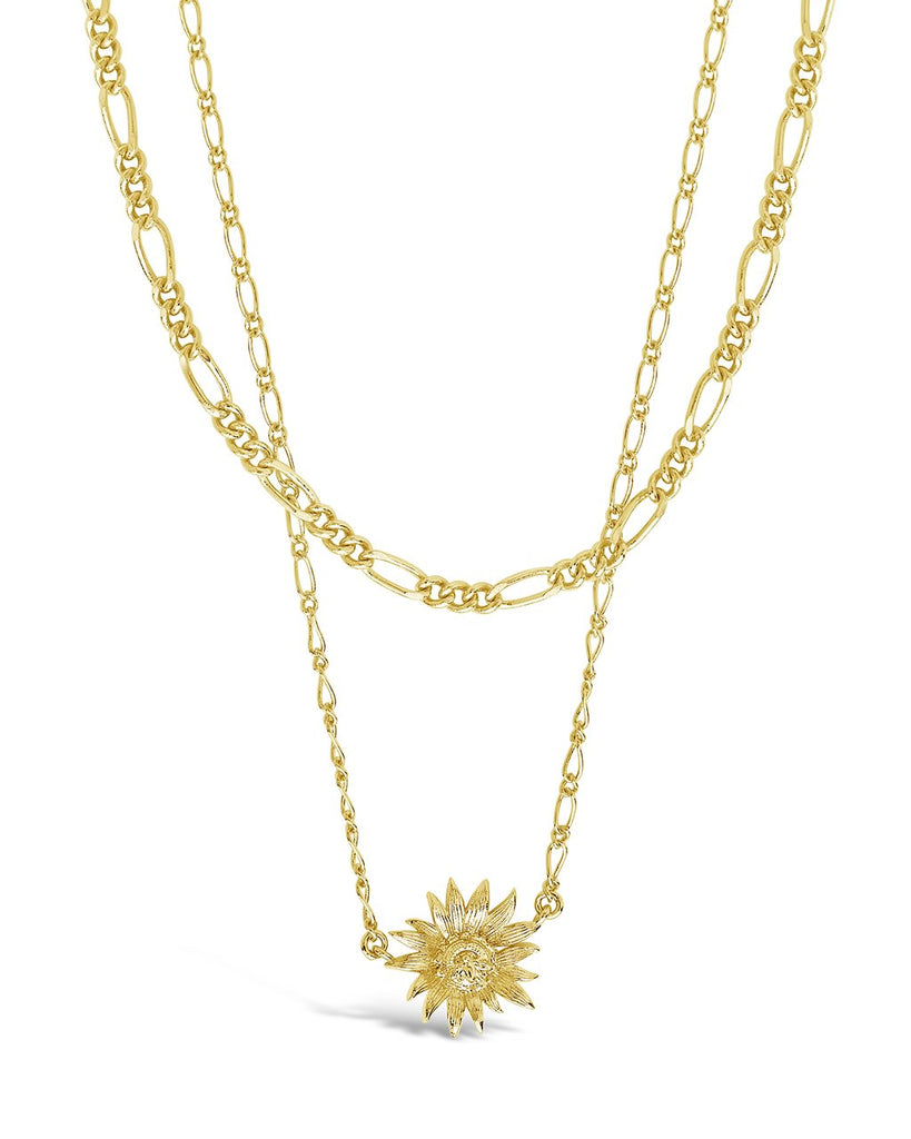 Pollinator Layered Necklace Necklace Sterling Forever Gold