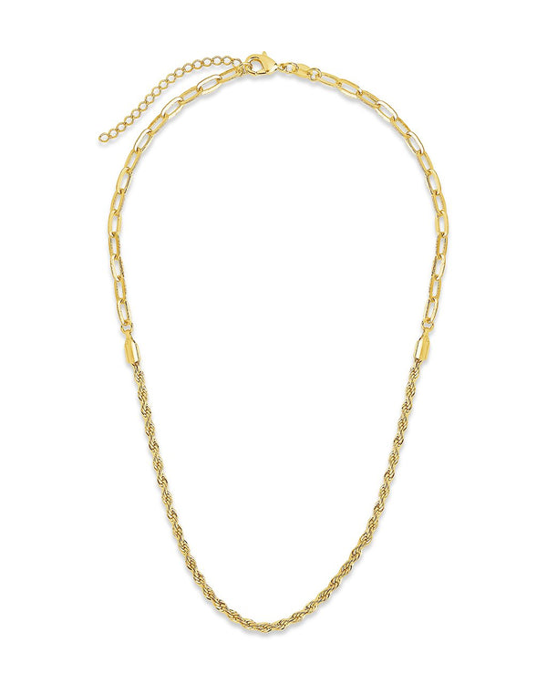 Rope Twist Chain Necklace Sterling Forever