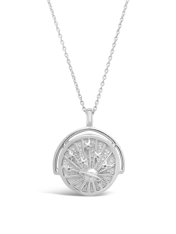 Celestial Rotation Pendant Necklace - Sterling Forever