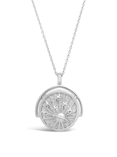 Celestial Rotation Pendant Necklace Necklace Sterling Forever Silver