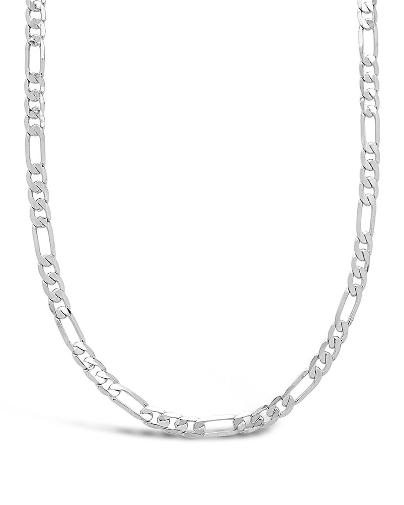 Figaro Chain Necklace - Sterling Forever