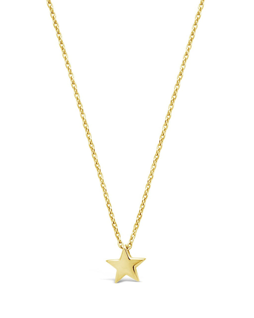 Sterling Silver Delicate Star Pendant Necklace - Sterling Forever
