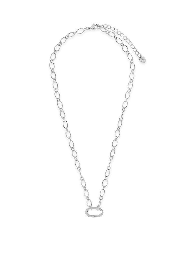 Illusion Lock Pendant - Sterling Forever