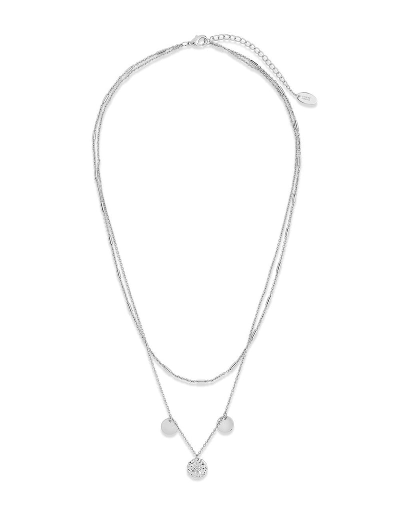 Polaris Layered Charm Necklace Necklace Sterling Forever