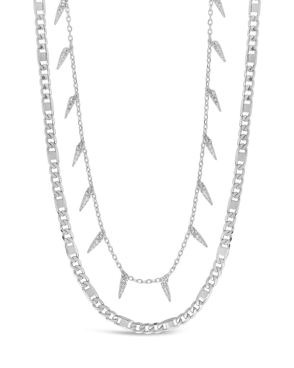 Chain & Charm Necklace Set Necklace Sterling Forever Silver