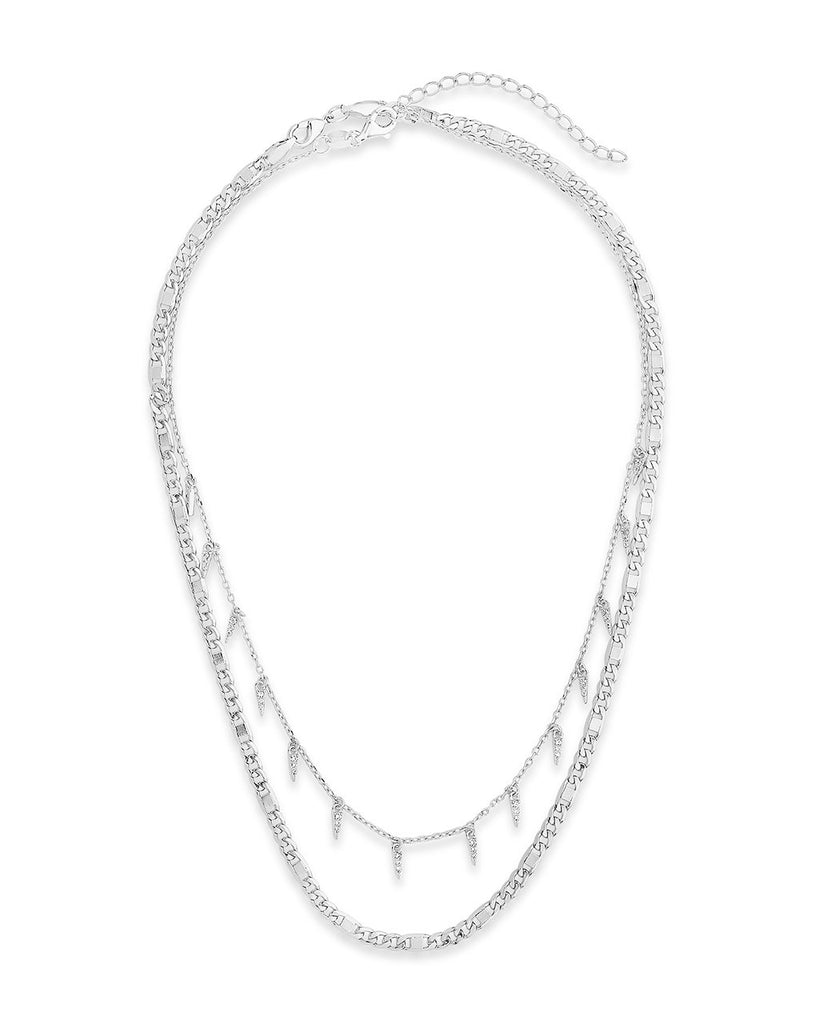 Chain & Charm Necklace Set Necklace Sterling Forever