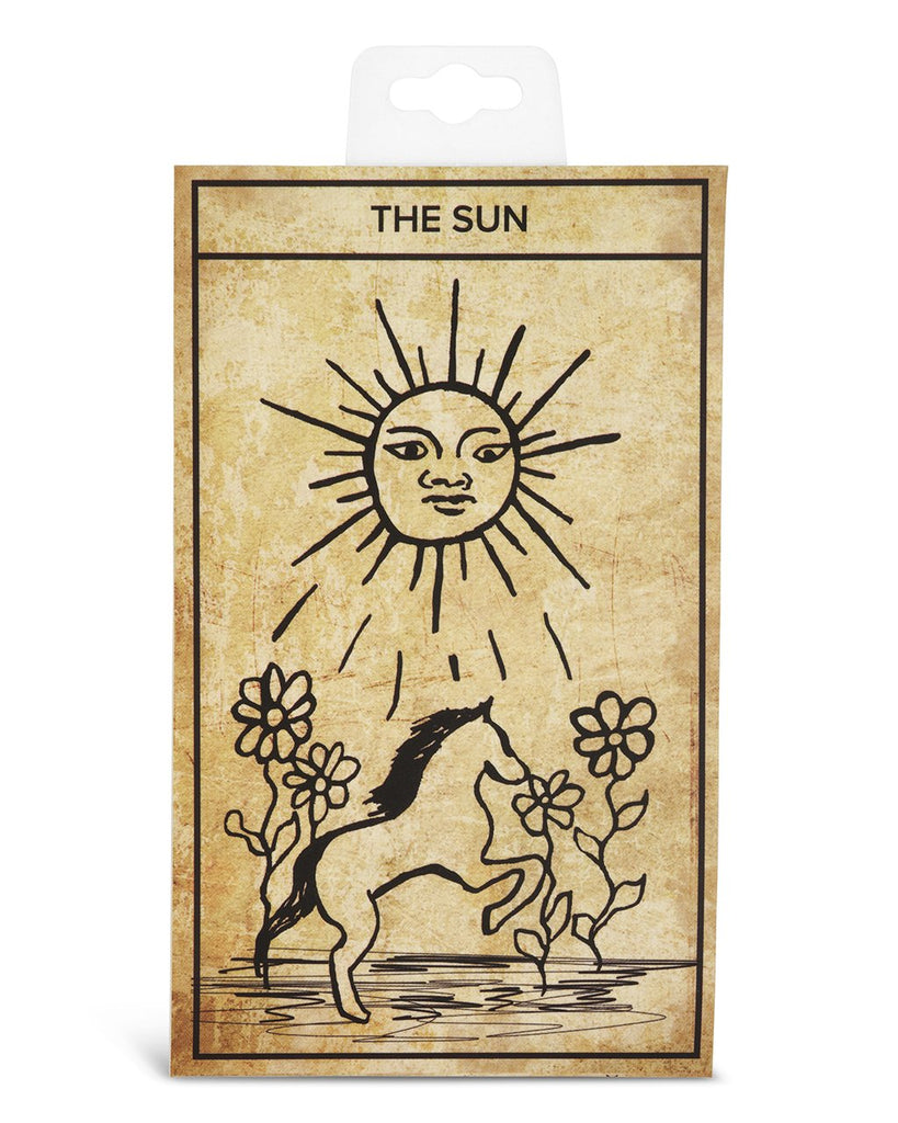 The Sun Tarot Card Necklace - Sterling Forever