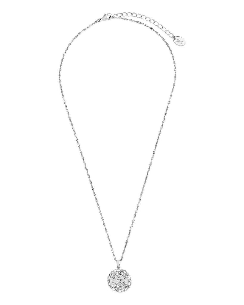 Veni, Vidi, Vici Pendant Necklace Sterling Forever