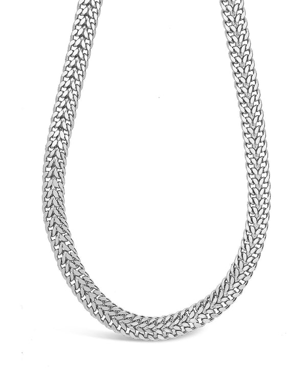 Flat Link Chain Necklace Sterling Forever