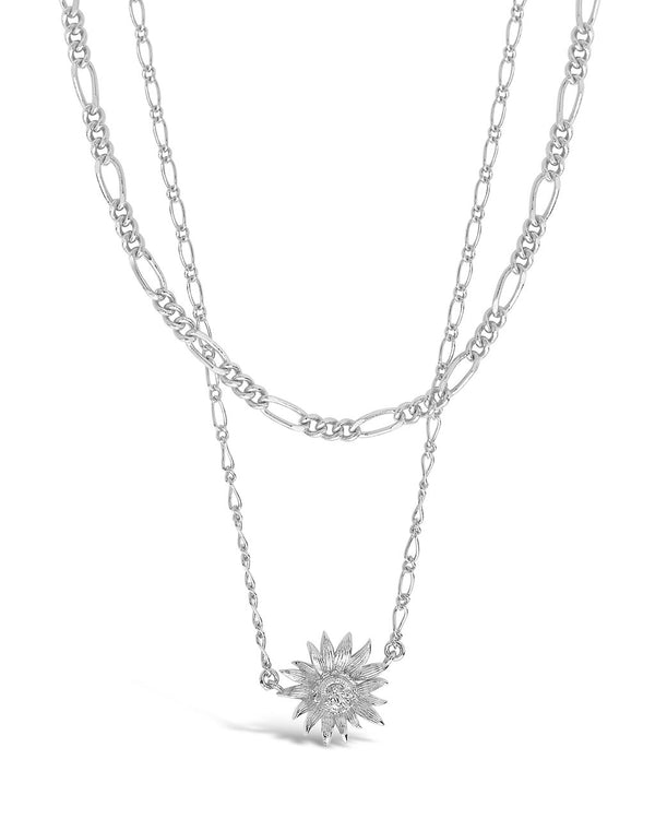 Pollinator Layered Necklace Necklace Sterling Forever Silver
