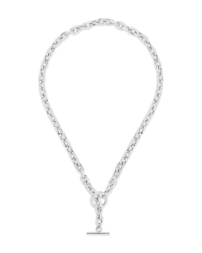 Bold Chain Toggle Necklace Necklace Sterling Forever Silver