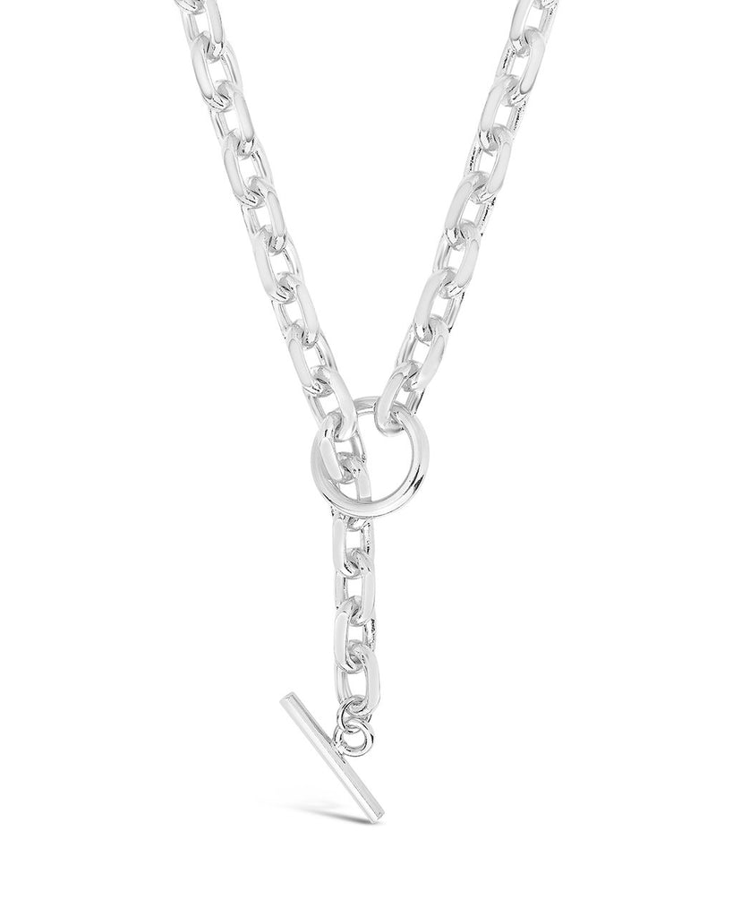 Bold Chain Toggle Necklace Necklace Sterling Forever