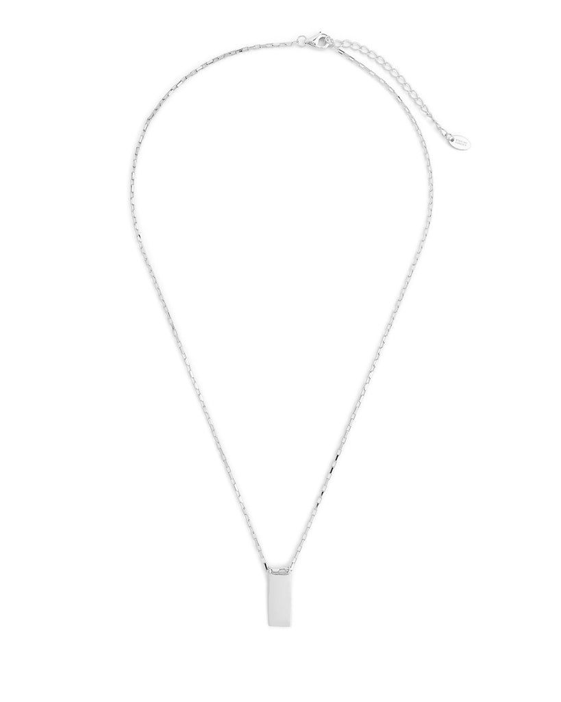 Sterling Silver Mini Tag Necklace Necklace Sterling Forever