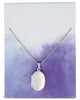 Sterling Silver Round Locket Necklace Necklace Sterling Forever Silver