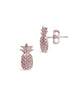 Sterling Silver Pineapple Stud Earrings - Sterling Forever