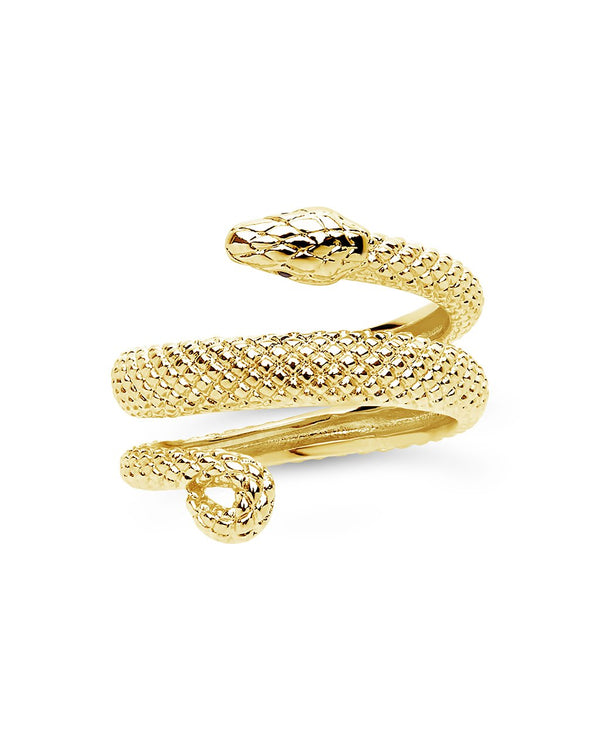 Constricting Snake Ring - Sterling Forever