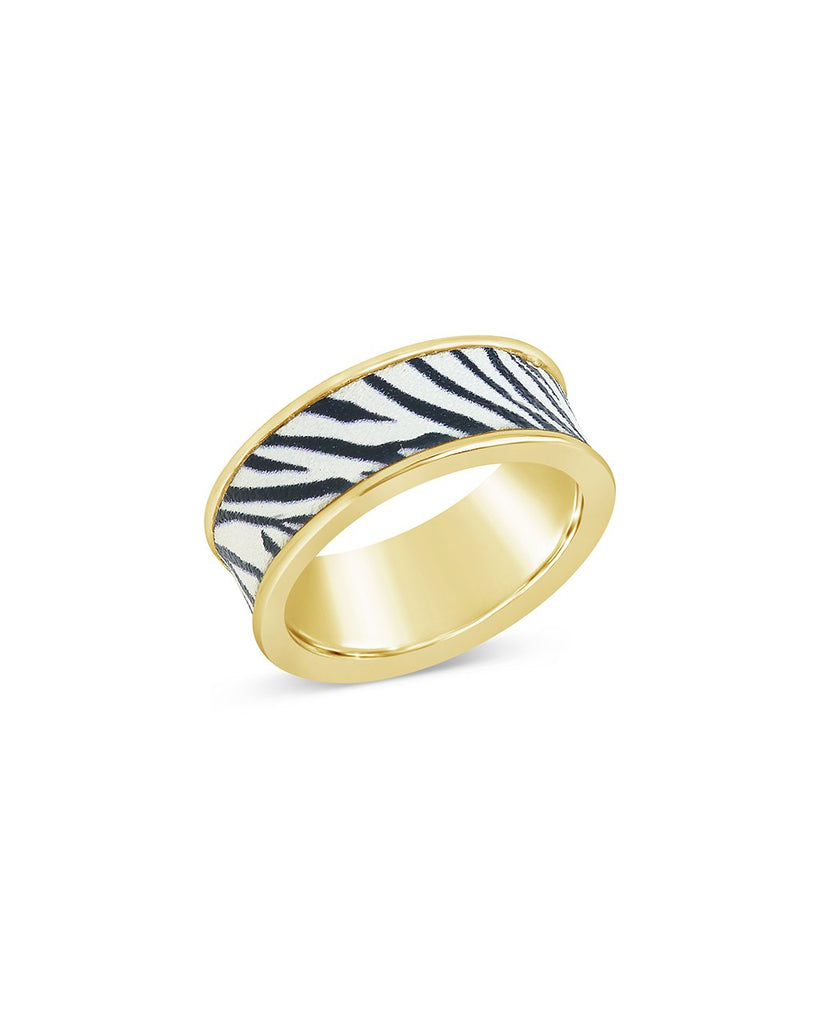 Into the Jungle Band Ring - Sterling Forever