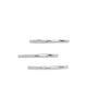 Sterling Silver Polished Band Set of 3 - Sterling Forever