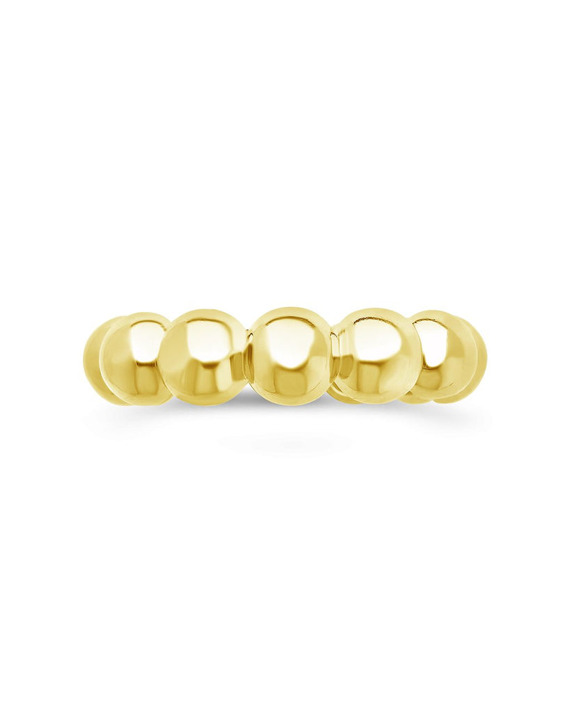 Sterling Silver Chunky Bubble Ring Ring Sterling Forever Gold 6
