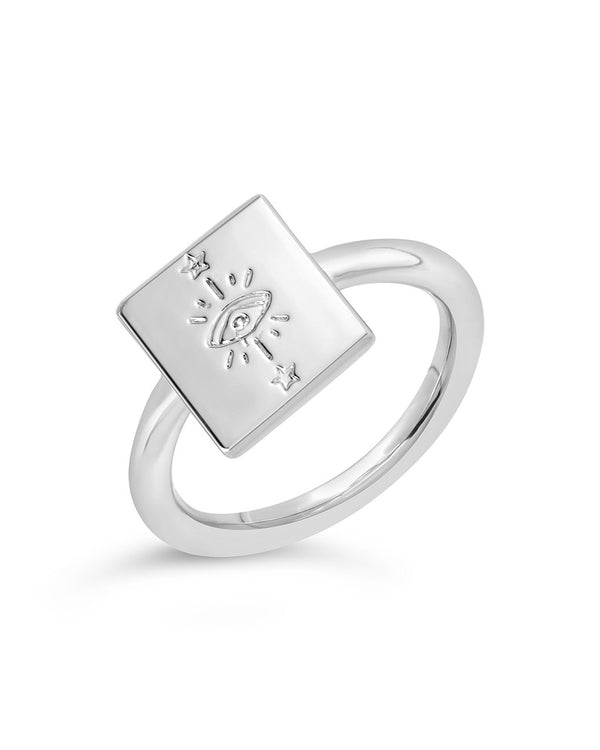 Tarot Card Ring - Sterling Forever