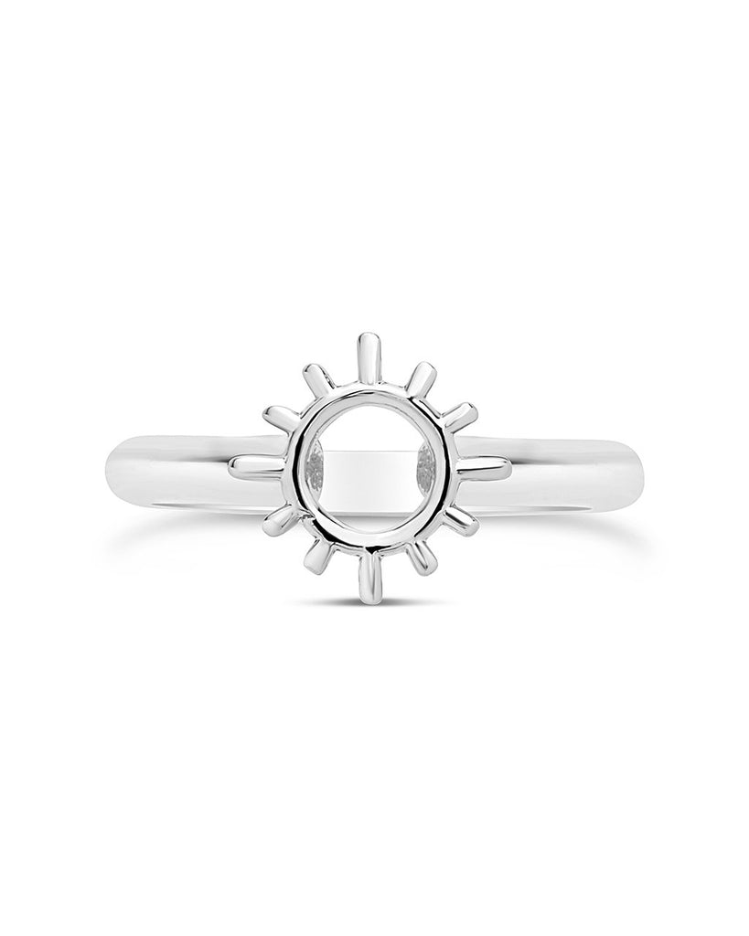 Open Sun Ring - Sterling Forever