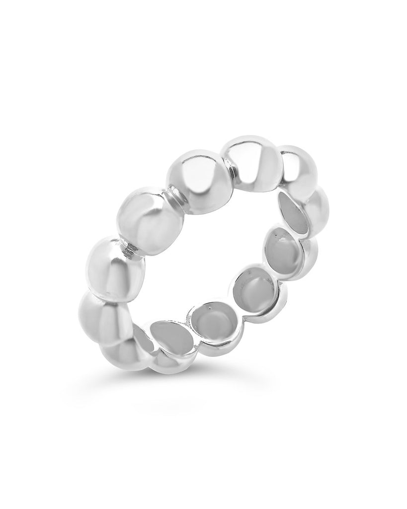Sterling Silver Chunky Bubble Ring Ring Sterling Forever