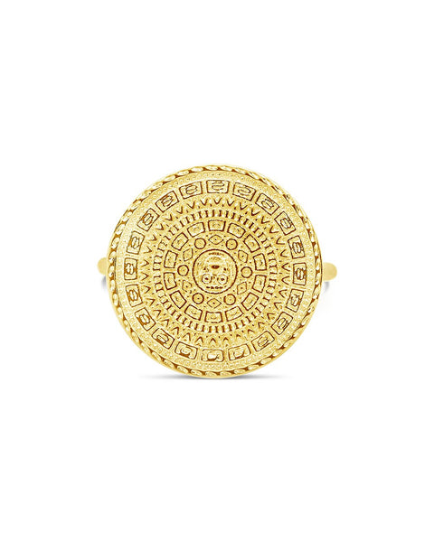 Medallion Statement Ring
