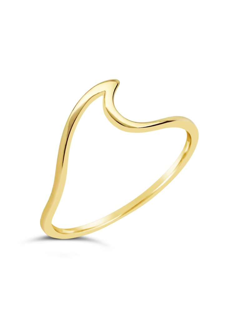 Sterling Silver Wave Ring - Sterling Forever
