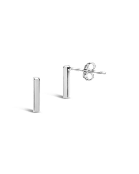 Sterling Silver Bar Stud Earring Sterling Forever