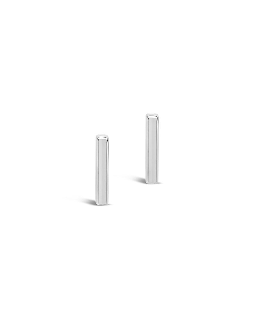 Sterling Silver Bar Stud - Sterling Forever