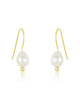 Sterling Silver Pearl Dangle Earrings - Sterling Forever