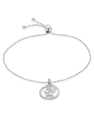 Crown Jewel Bolo Bracelet Bracelet Sterling Forever