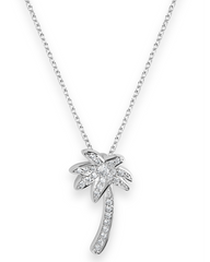 Palm Tree Necklace Pendant - As Seen in Fool's Gold
