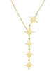 Polished Star Y Necklace
