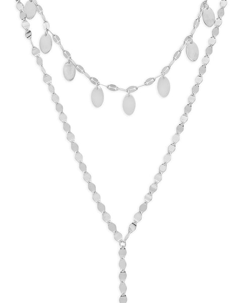 Charmed Layered Y Necklace Necklace Sterling Forever