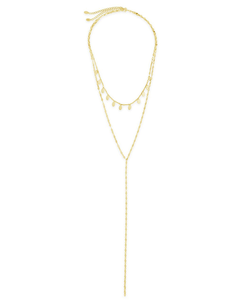 Charmed Layered Y Necklace - Sterling Forever