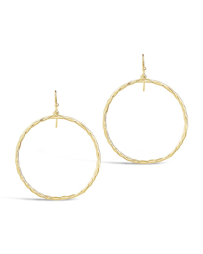 Circle Dangle Earrings - Sterling Forever