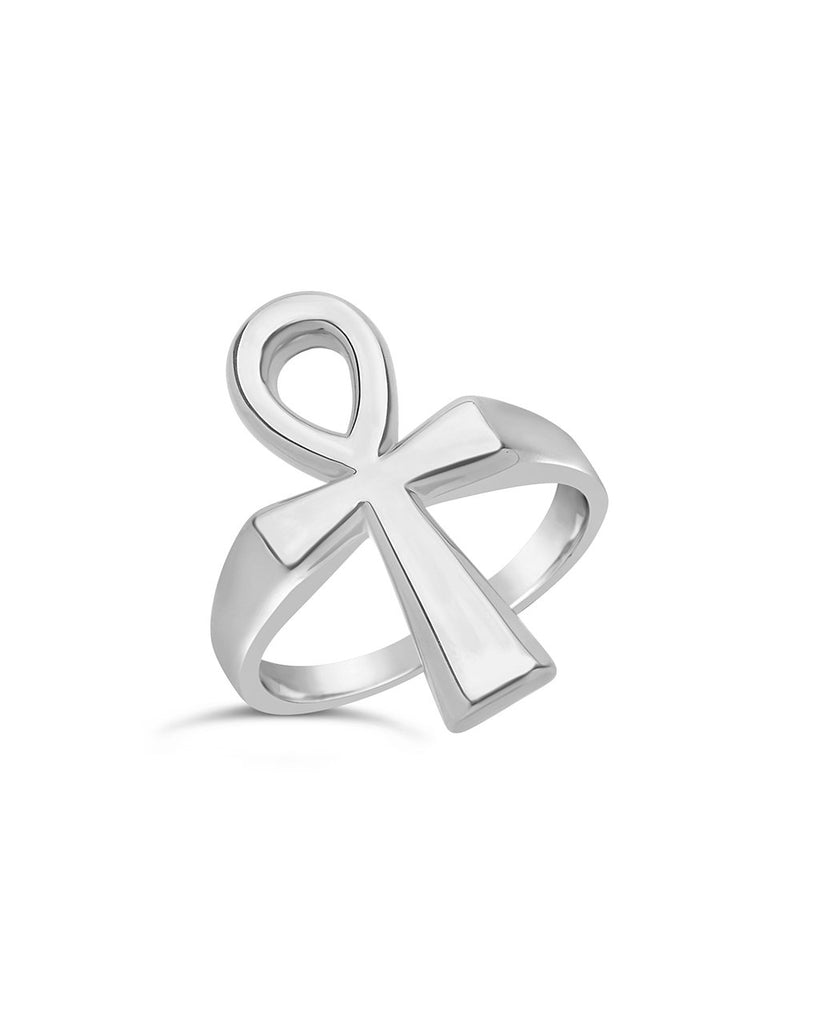 Ankh Statement Ring Ring Sterling Forever