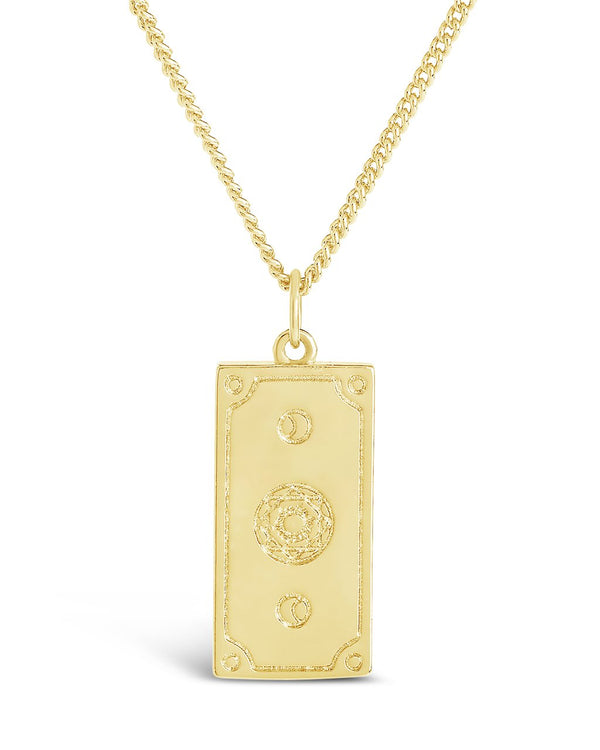 Venus Card Pendant Necklace - Sterling Forever