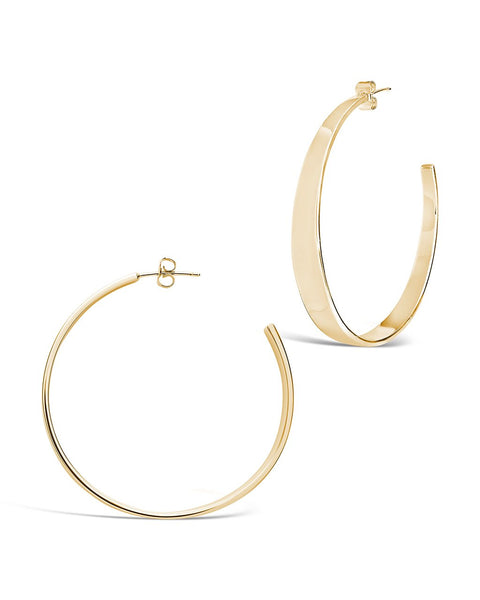 Graduating Hoop Earrings